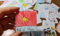 방역 최전선 의료진에게 보내는 아이들의 사랑의 메시지