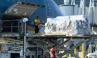 재미교포 기증 지원품 6.2톤, 베트남 도착