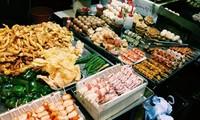 개학을 맞이하여 하노이에서 유명한 간식거리 탐방