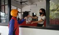 호찌민시, 식당 테이크아웃 음식 판매 허락