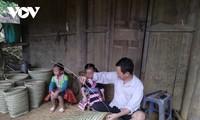 선라성 몽족 공동체의 생활용구 '루꺼' 바구니