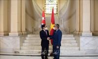 부이 타인 선 외교부 장관, 마르셀리노 메디나 쿠바 외교부 장관 대행과 회담