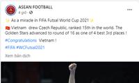 동남아 축구팬들, 베트남 풋살 승리에 자부심 느껴