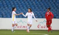 베트남 여자 축구대표팀, 2022 여자 아시안컵 예선 시작