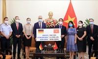 독일 정부 지원 아스트라제네카 백신 260만 회분 베트남 도착