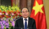 국가주석: 방역 승리와 번영 발전의  베트남을 위하여