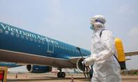 베트남 국내 항공사, 항공기 내 방역 규정 엄수