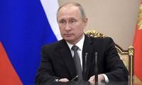 គណៈកម្មាធិការបោះឆ្នោតមជ្ឈឹមរុស្ស៊ីទទួលយកប្រធានាធិបតី V.Putin ឈរឈ្មោះក្នុងការបោះឆ្នោតខាងមុខ