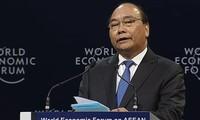 """បើកសម័យប្រជុំពេញអង្គនៃសន្និសីទ WEF ASEAN ឆ្នាំ២០១៨ក្រោមប្រធានបទ """"អាទិភាពរបស់អាស៊ានក្នុងបដិវត្តន៍ឧស្សាហកម្មលើកទី៤"""""""