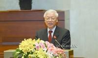 ប្រព័ន្ធផ្សព្វផ្សាយអន្តរជាតិផ្សាយព័ត៌មានស្តីពីអគ្គលេខាបក្សលោក Nguyen Phu Trong ត្រូវបានជ្រើសតាំងកាន់ដំណែងជាប្រធានរដ្ឋ