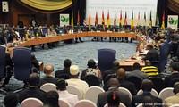សហគមន៌សេដ្ឋកិច្ចនៃបណ្តាប្រទេសអាហ្វិកខាងលិច (ECOWAS)បើកកិច្ចប្រជុំ