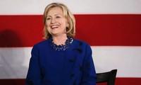 អតីតរដ្ឋមន្ត្រីការបរទេសអាមេរិក លោកស្រី Hillary Cliton ឈរឈ្មោះក្នុងការបោះឆ្នោតប្រធានាធិបតី