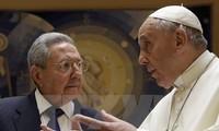 សម្តេចប៉ាប Francis ទី ១ ជួបជាមួយប្រធានរដ្ឋគុយបា លោក Raul Castro