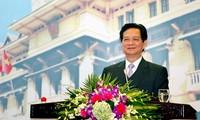 សកម្មភាពរបស់នាយករដ្ឋមន្ត្រី Nguyen  Tan Dung នៅខេត្ត Kien Giang