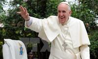 សម្តេចប៉ាប Francis យកមកសារសន្តិភាពទៅកាន់សាធារណៈរដ្ឋអាហ្វ្រិកកណ្ដាល