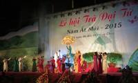 ពិធីបុណ្យតែ Dai Tu នៅខេត្ត Thai Nguyen