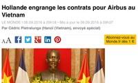 សារព័ត៌មានបារាំងជូនដំណឹងជាច្រើនស្ដីអំពីដំណើរបំពេញទស្សនកិច្ចរបស់ប្រធានាធិបតី លោក Francois Hollande នៅ