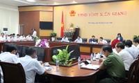 អនុប្រធានរដ្ឋសភា Phung Quoc Hien បំពេញការងារនៅខេត្ត Kien Giang