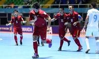 ក្រុម futsal ជម្រើសជាតិវៀតណាមដណ្ដើមបានជ័យជំនះក្នុងវង់ប្រកួតដំបូងនៃ Futsal World Cup ២០១៦