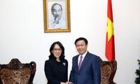 ឧបនាយករដ្ឋមន្ត្រី លោក Vuong Dinh Hue ទទួលជួបជាមួយថ្នាក់ដឹកនាំCentral Group (ថៃ)