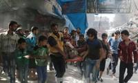សហគមន៍អន្តរជាតិស្វាគមន៍បទឈប់បាញ់របស់រុស្ស៊ីនៅក្រុង Aleppo