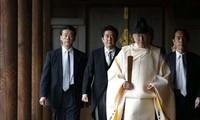 នាយករដ្ឋមន្ត្រីជប៉ុនផ្ញើគ្រឿងសំណែនទៅវិហារ  Yasukuni