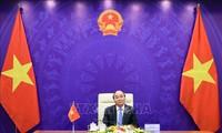 Perdana Menteri Vietnam- Laos- Kampuchia Mengadakan Pembicaraan secara Virtual