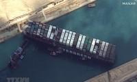 Para Pihak Mencapai Kesepakatan untuk Melepaskan Kapal Supra Ever Given