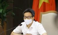 Deputi Perdana Menteri Vu Duc Dam Minta Supaya Mengontrol Kendaraan yang Keluar Masuk Kota Ho Chi Minh