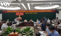 Deputi Perdana Menteri Vu Duc Dam Lakukan Pemeriksaan Pencegahan dan Penanggulangan Pandemi Covid-19 di Kota Ho Chi Minh