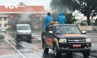 Kota Ho Chi Minh Lakukan Penyemprotan Disinfektan Covid-19 Besar-besaran