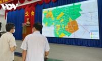Deputi PM Vu Duc Dam Inspeksi Pencegahan dan Pengendalian Pandemi di Binh Duong