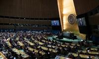 Presiden Nguyen Xuan Phuc Hadiri Pembukaan Sesi Diskusi Bersama Tingkat Tinggi Persidangan ke-76 Majelis Umum PBB