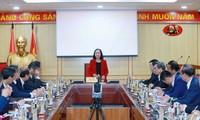 Kepala Departemen Organisasi KS PKV Adakan Pertemuan Dengan Para Duta Besar dan Konsul Jenderal Sebelum Terima Tugas
