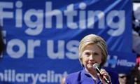 希拉里锁定民主党提名 成为2016美国总统选举候选人