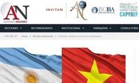 越南是阿根廷重要的贸易伙伴