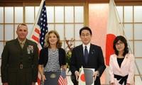 日本和美国签署扩大相互提供物资劳务协定