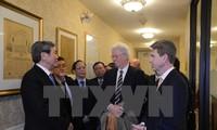 越共中央政治局委员、中央书记处常务书记丁世兄结束对美国的访问