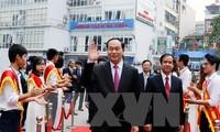 越南国家主席陈大光:河内国家大学自然科学大学要注重科研工作