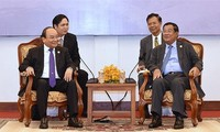 推动越柬多领域合作关系发展