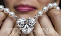 世界最大心形钻石成功拍卖