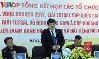 本台与越南足球协会携手描绘越南五人制足球赛蓝图