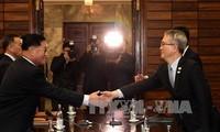 朝鲜希望通过韩朝对话停止军事敌对