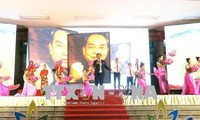 广平省各级团组织举行关于武元甲大将的传统生活会