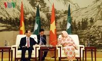 越南和非洲各国一向互相支持和帮助