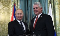 古巴和俄罗斯谴责美国的单方面制裁