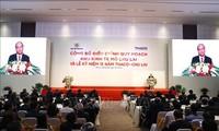 阮春福出席珠莱经济区规划调整公布仪式