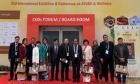 促进越南和印度传统医学合作