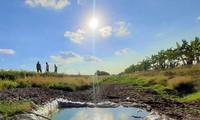 金瓯角遭受干旱影响
