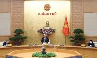 越南政府总理主持召开政府常务委员会关于疫情防控工作的会议